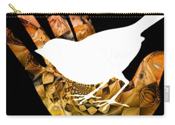 A Bird In The Hand Is Worth Two In The Bush  Carry-all Pouch