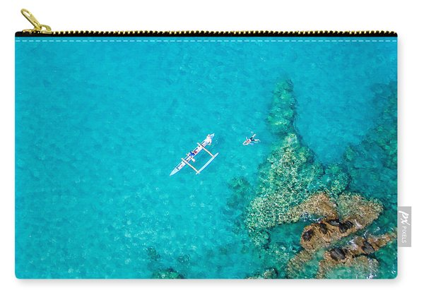 A Bird's Eye View Carry-all Pouch