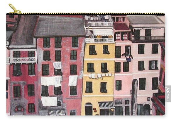 A Bird's Eye View Of Cinque Terre Carry-all Pouch