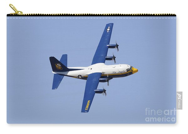 A C-130 Hercules Of The Blue Angels Carry-all Pouch