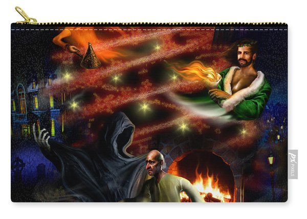 A Christmas Carol Carry-all Pouch