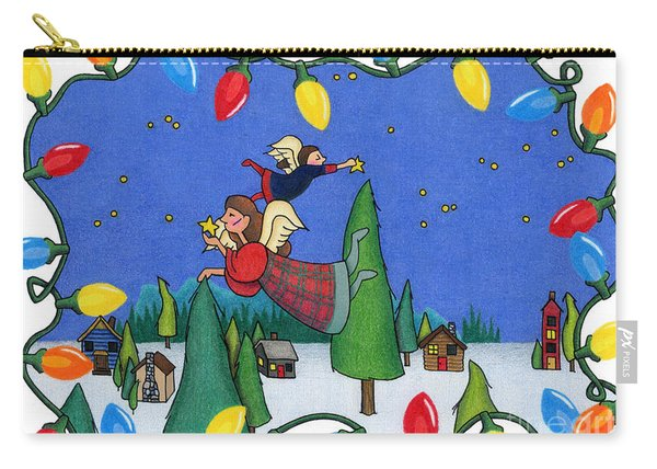 A Christmas Scene Carry-all Pouch