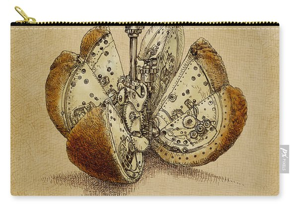 Steampunk Orange - Option Carry-all Pouch