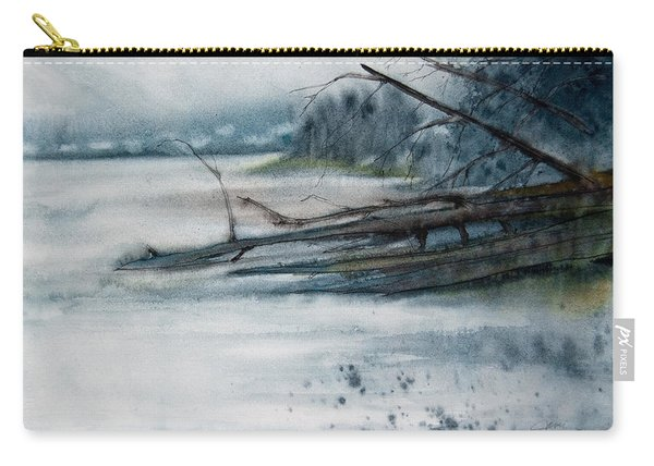 A Cold And Foggy View Carry-all Pouch