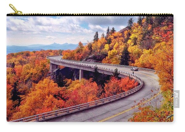 A Colorful Ride Along The Blue Ridge Parkway Carry-all Pouch