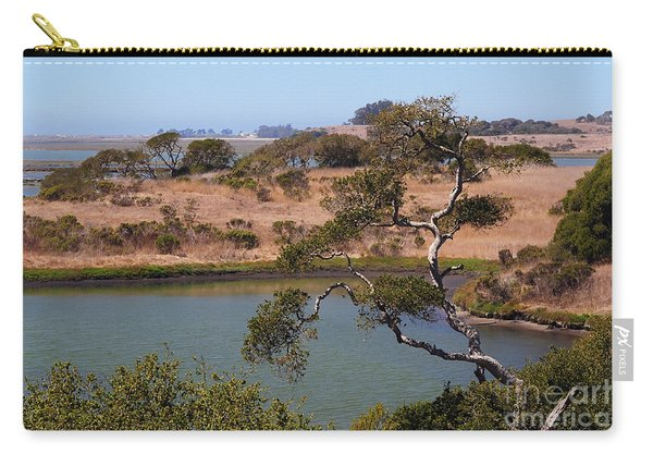 A Cove In Late Summer At Elkhorn Slough Carry-all Pouch