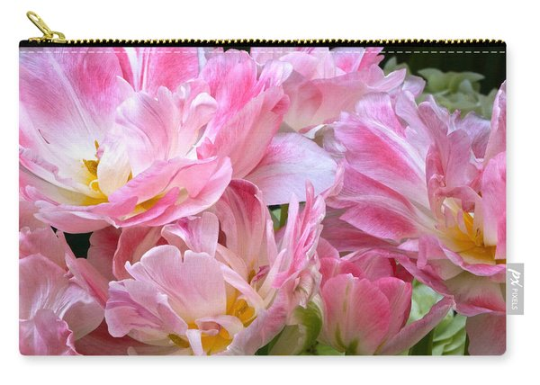 A Crowd Of Tulips Carry-all Pouch