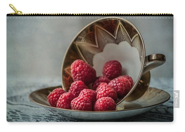 A Cupfull Of Raspberries Carry-all Pouch