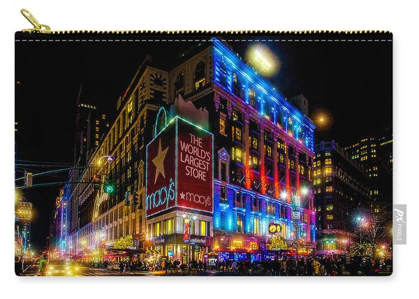 A December Evening At Macy's  Carry-all Pouch