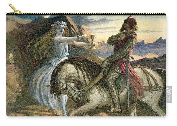 A Fairy And A Knight Carry-all Pouch
