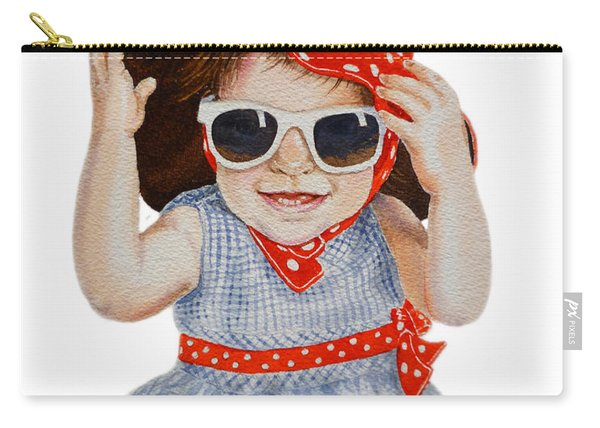 A Fashion Girl  Carry-all Pouch