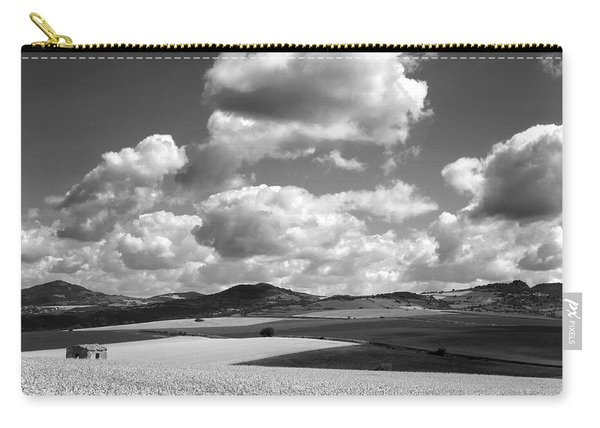 A Field Of Wheat. Limagne. Auvergne. France Carry-all Pouch