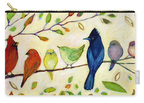 A Flock Of Many Colors Carry-all Pouch
