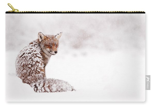 A Red Fox Fantasy Carry-all Pouch
