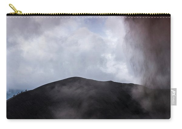 A Group Of People At Mt. Bromo Carry-all Pouch