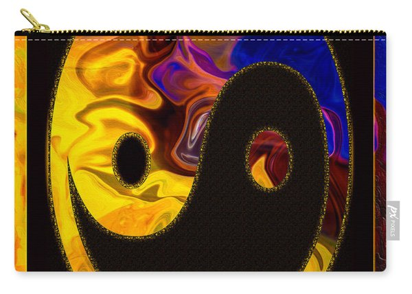 A Happy Balance Of Energies Abstract Healing Art Carry-all Pouch