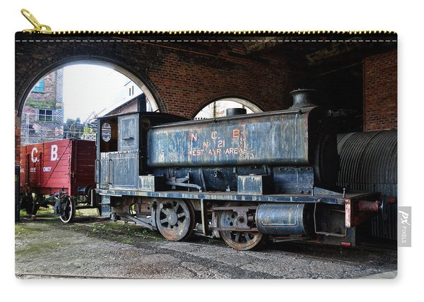 A Locomotive At The Colliery Carry-all Pouch