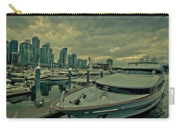 A Million Dollar Ride Yacht  Carry-all Pouch