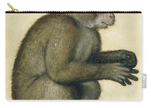A Monkey Carry-all Pouch