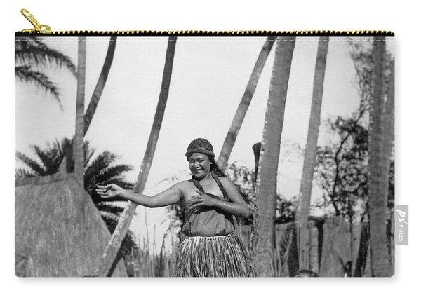 A Native Hawaiian Dancer Carry-all Pouch