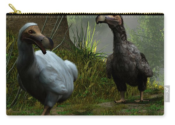 A Pair Of Dodos Carry-all Pouch