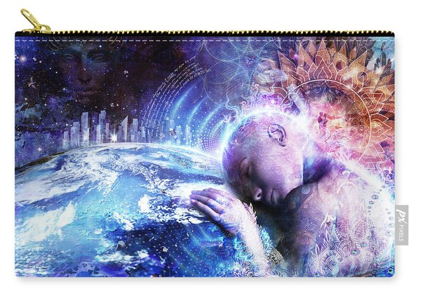 A Prayer For The Earth Carry-all Pouch