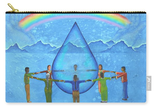 A Prayer For Water Carry-all Pouch