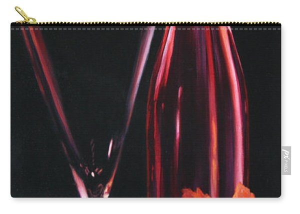 Carry-all Pouch featuring the painting A Prelude To Romance by Sandi Whetzel