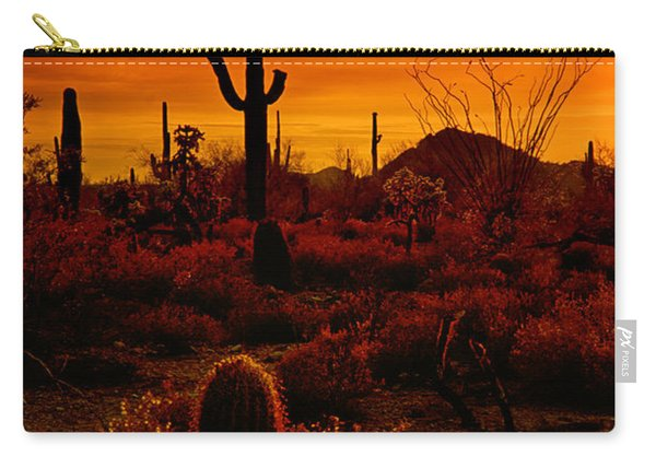 A Red Desert  Carry-all Pouch