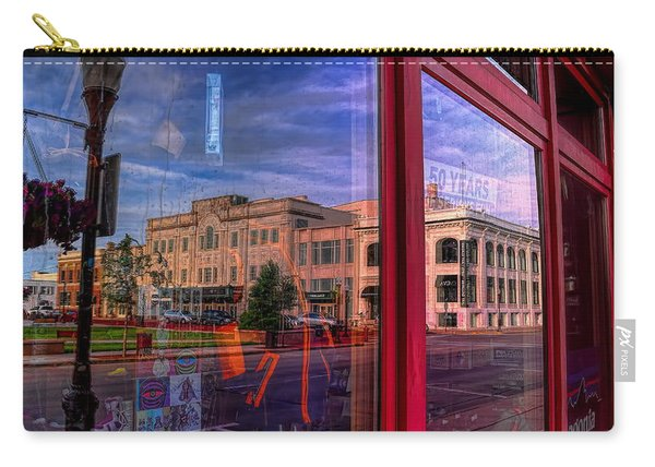A Reflection Of Wausau's Grand Theater Carry-all Pouch