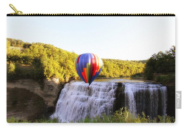 A Ride Over The Falls Carry-all Pouch