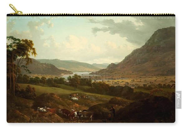 A Scene In The Lake District Carry-all Pouch