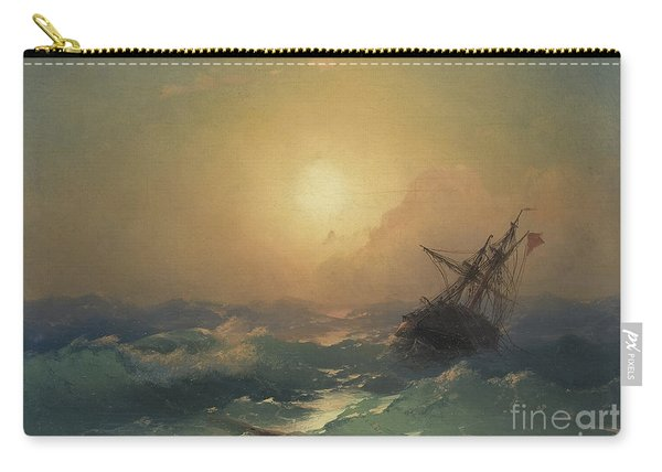 A Ship In Distress Carry-all Pouch