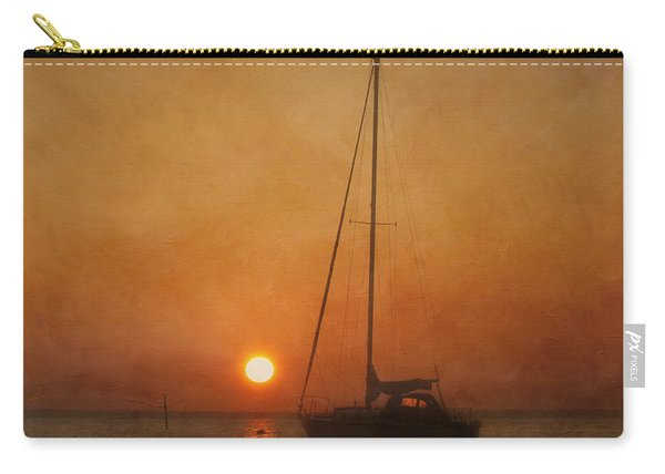 A Ship In The Night Carry-all Pouch