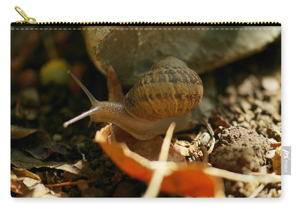 A Snail On The Move Carry-all Pouch