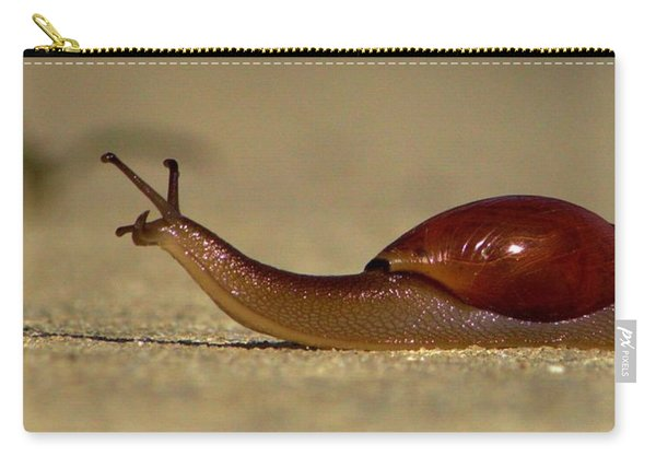 A Snails Pace Carry-all Pouch