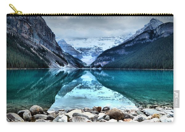 A Still Day At Lake Louise Carry-all Pouch