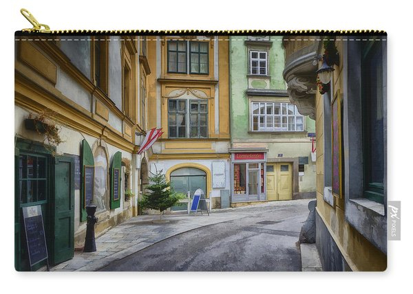A Street In Vienna Carry-all Pouch