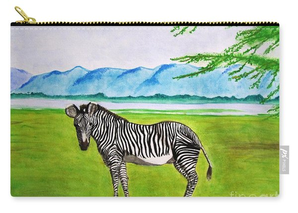 A Striped Chap Carry-all Pouch