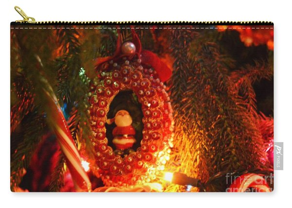 A Treasured Santa Carry-all Pouch
