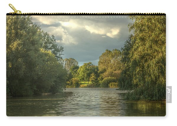 A View Down The Lake Carry-all Pouch