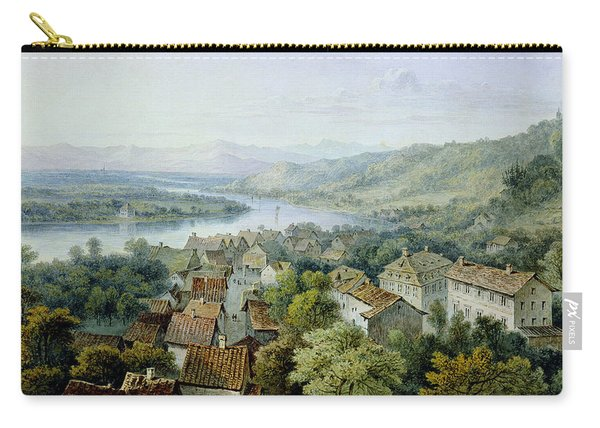 A View Of Karlsruhe Carry-all Pouch