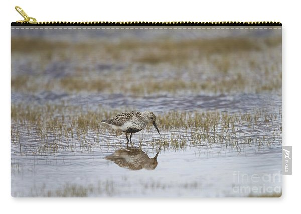 A Wading Dunlin Carry-all Pouch