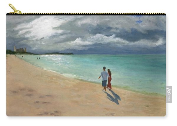 A Walk At Tumon Bay Guam Carry-all Pouch
