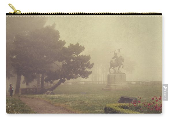 A Walk In The Fog Carry-all Pouch