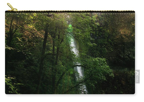 A Waterfall On The Pacific Crest Trail Carry-all Pouch