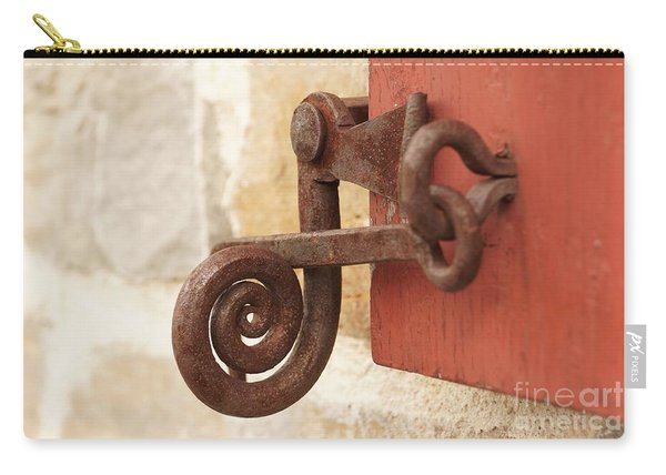 A Window Latch Carry-all Pouch