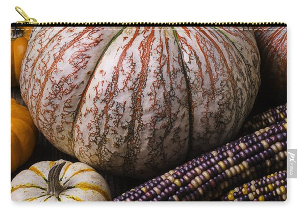 A Wonderful Autumn Harvest Carry-all Pouch