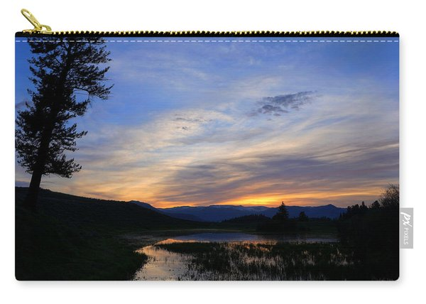 A Yellowstone Lake Before Sunrise Carry-all Pouch