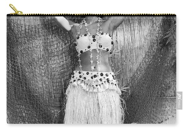 A Young Hawaiian Hula Woman Carry-all Pouch